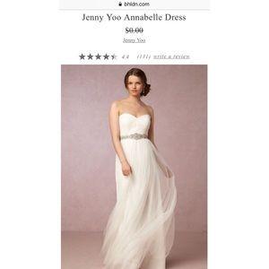 Bhldn/Jenny Yoo Annabelle wedding dress